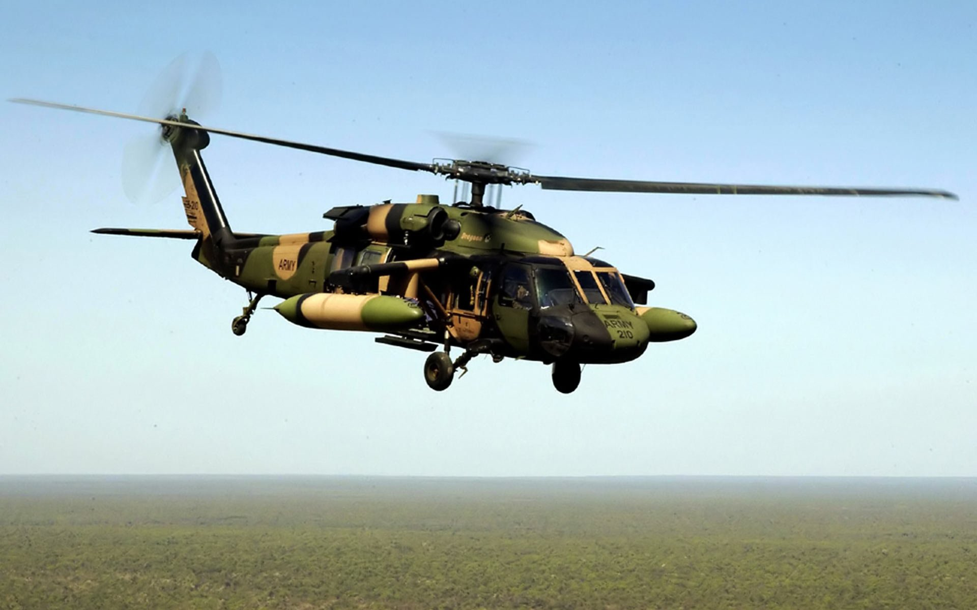 Black Hawk Helicopter Unique HD Wallpapers 1920x1200