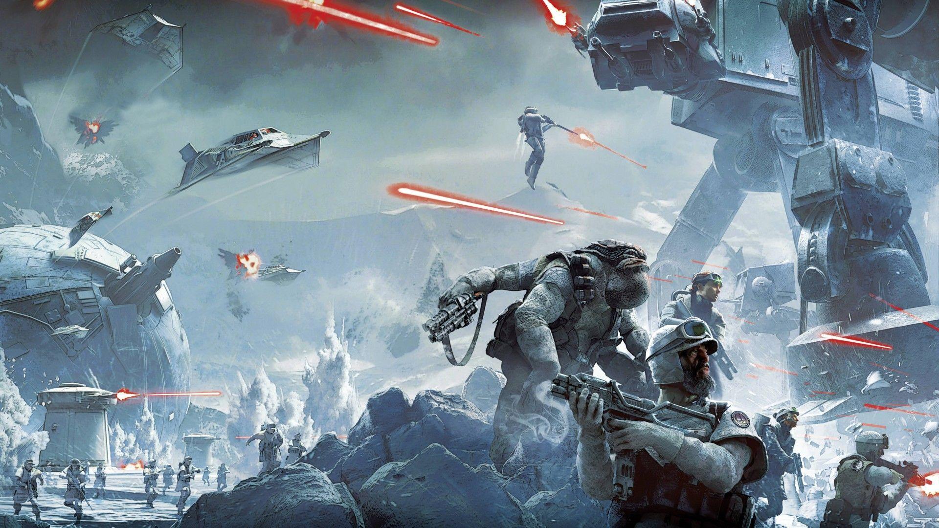 Star Wars Battlefront Twilight Company 4K 5K Star Wars 1920x1080