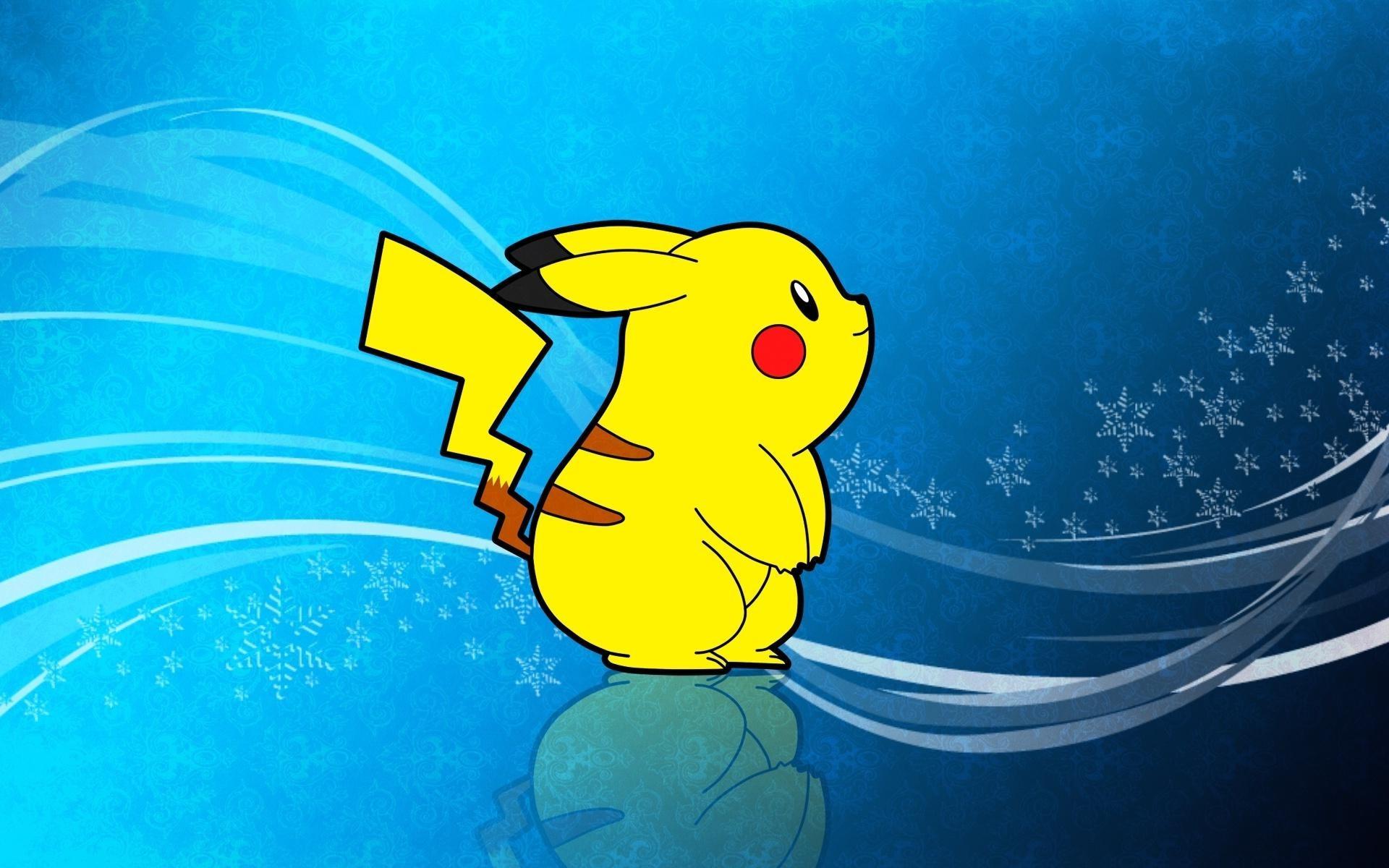 Pikachu Pokemon Yellow Anime HD Wallpaper Desktop Wallpapers High 1920x1200