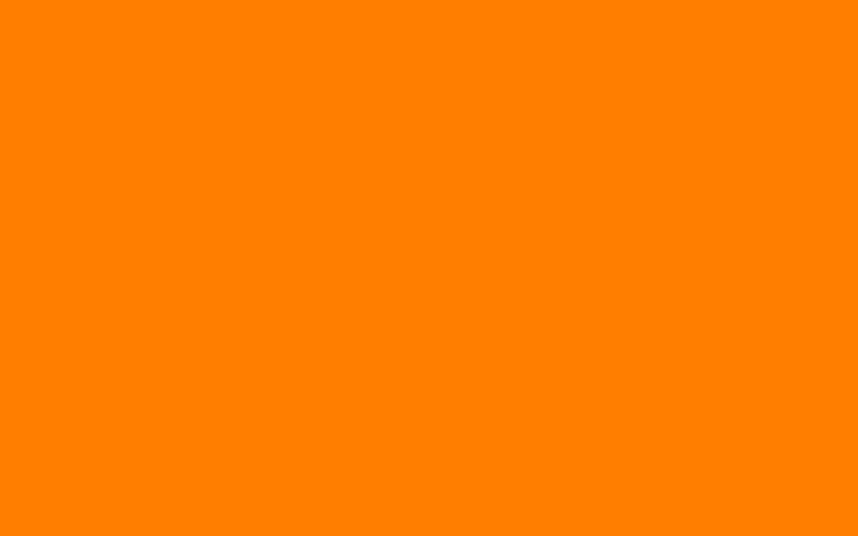 2880x1800 Amber Orange Solid Color Background 2880x1800