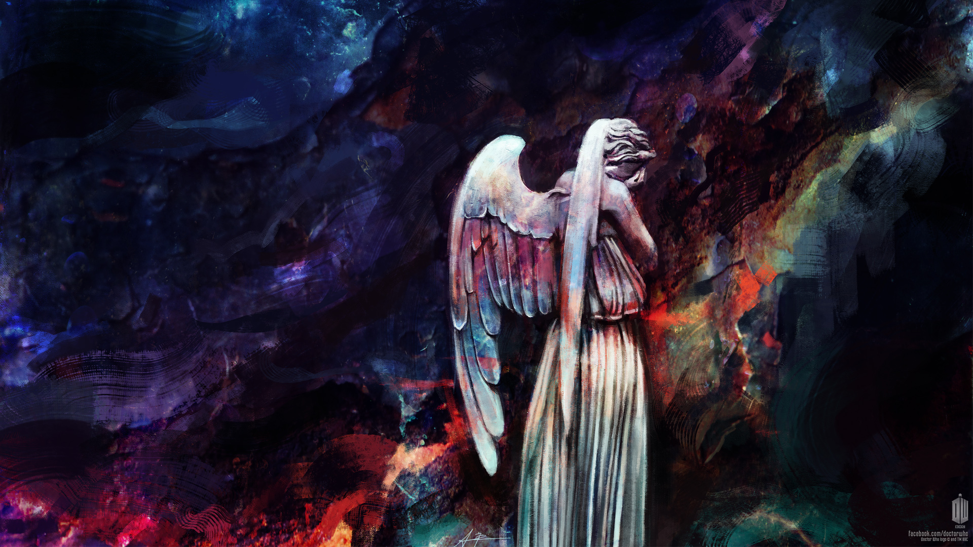 Dont blink Weeping Angels wallpaper Doctor Who 1920x1080