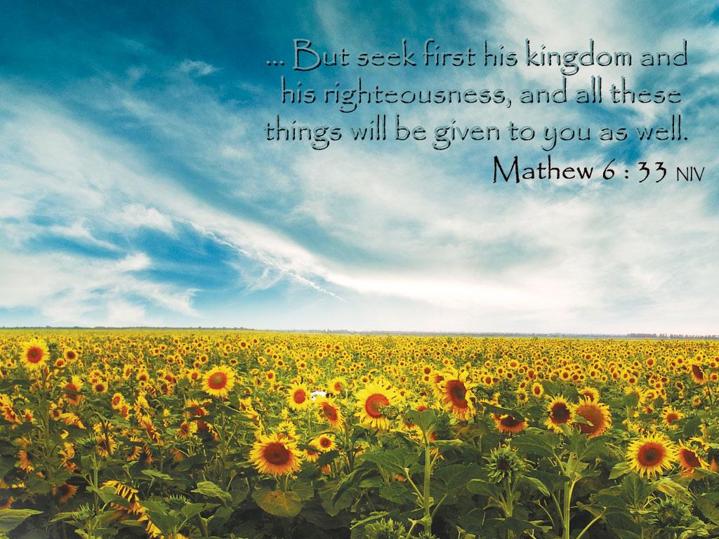 33   Seek First The Kingdom of God Wallpaper   Christian Wallpapers 1024x768
