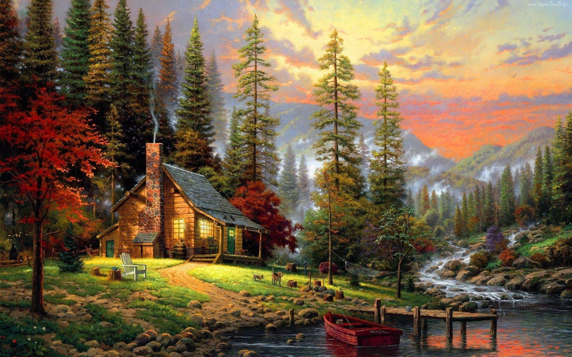 A Peaceful Retreat HD Wallpaper Background Image 1920x1200 1920x1200