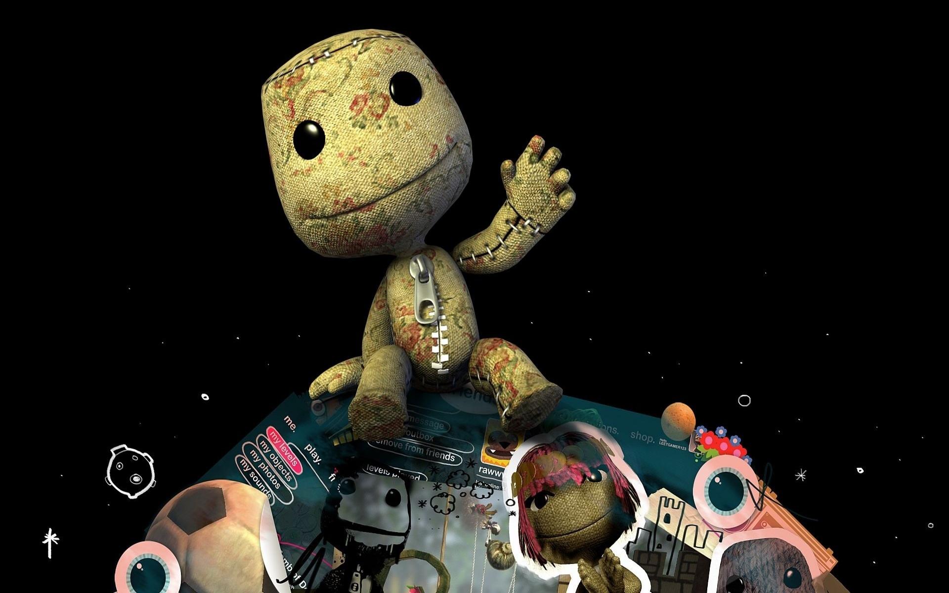 графика игры The Little Big Planet graphics game  № 1878089  скачать