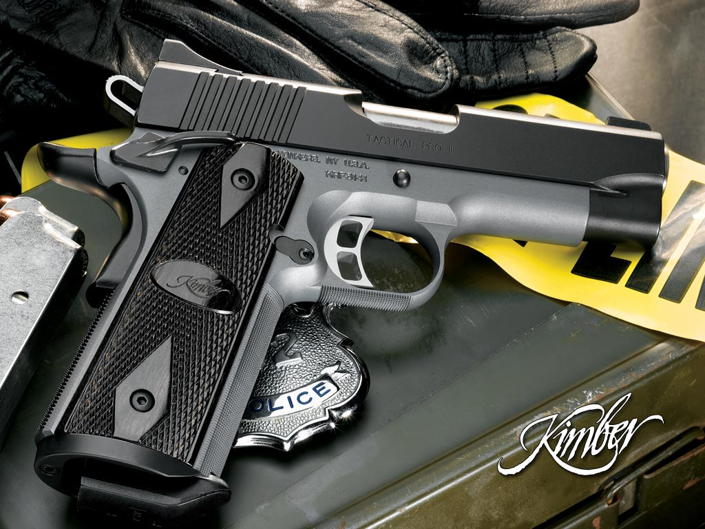 the ppk but my favorite handgun is the 1911 specifically the kimbers 1024x768