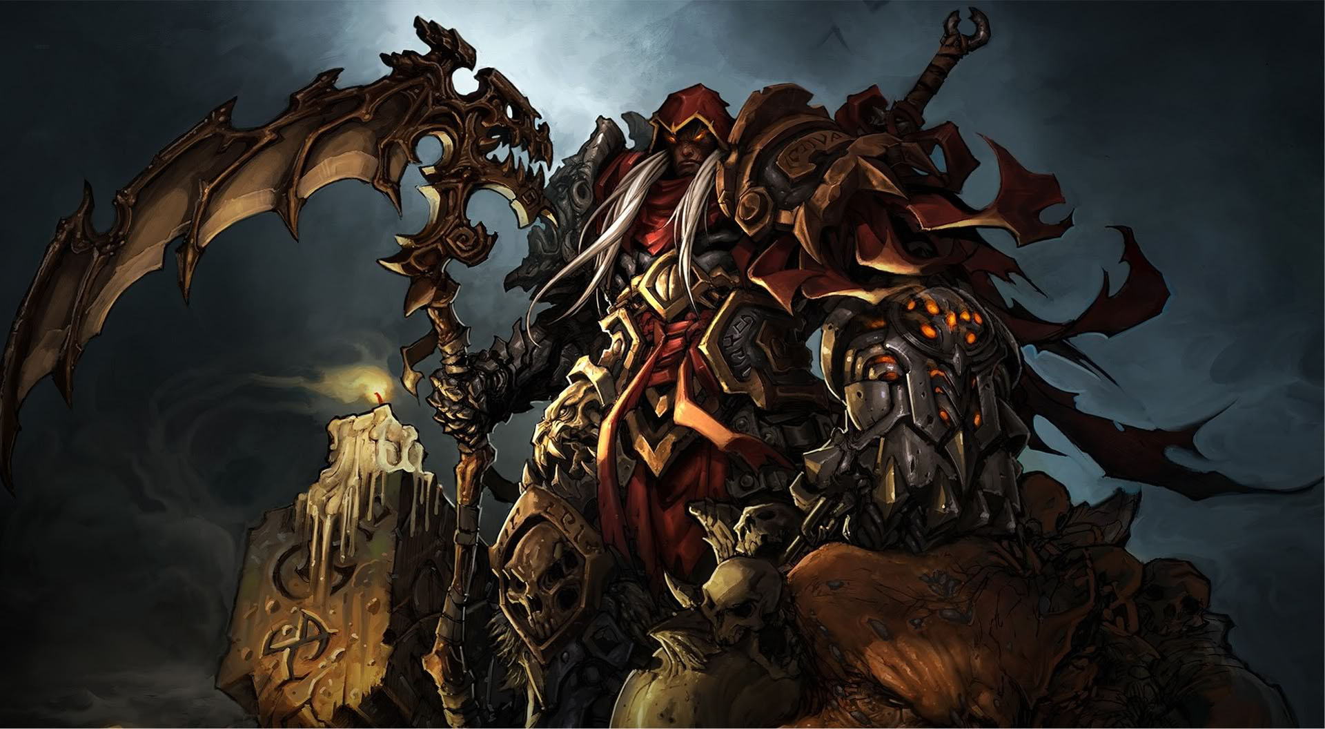 Concept Art   Action Rpg Games Wallpaper Image featuring Darksiders 1920x1056