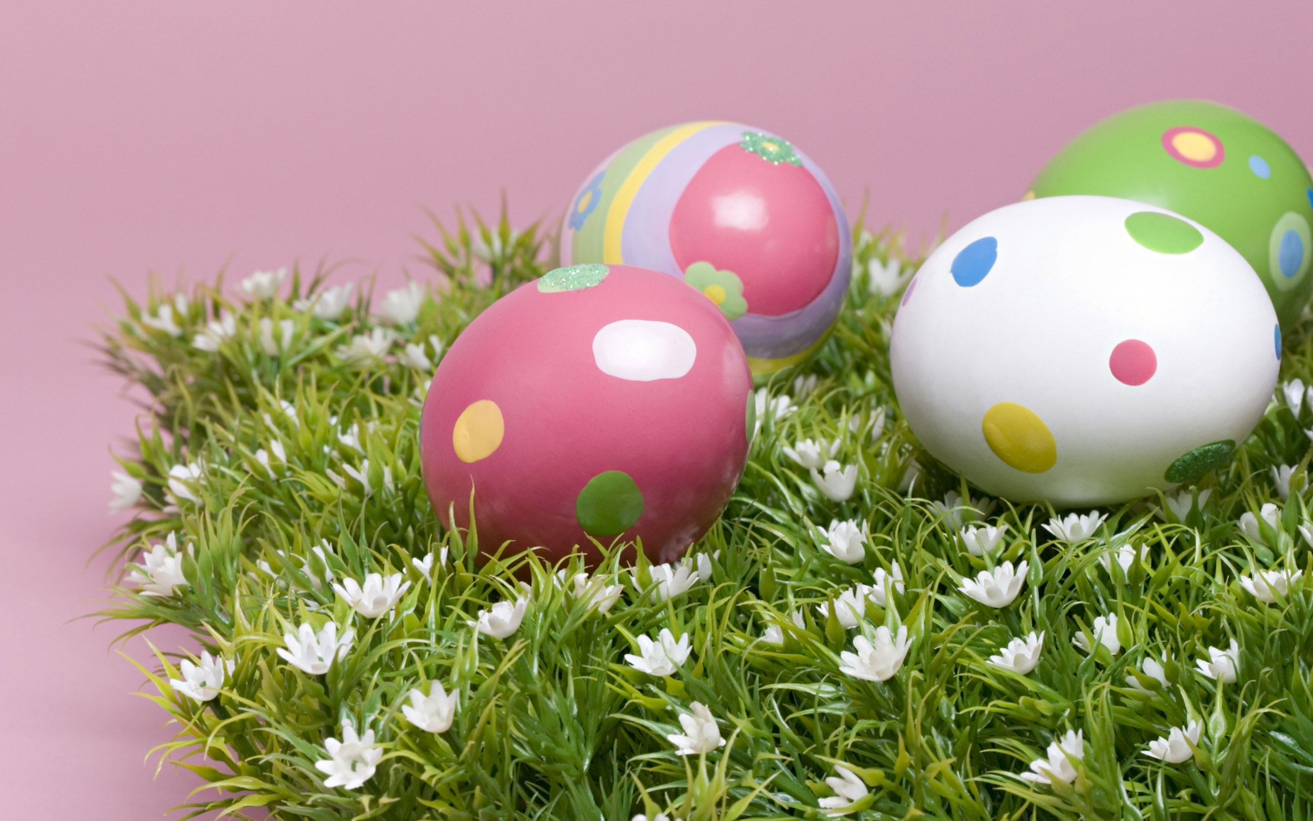 Cute Easter Eggs Picture HD wallpaper Wallpapers   HD 2560x1600