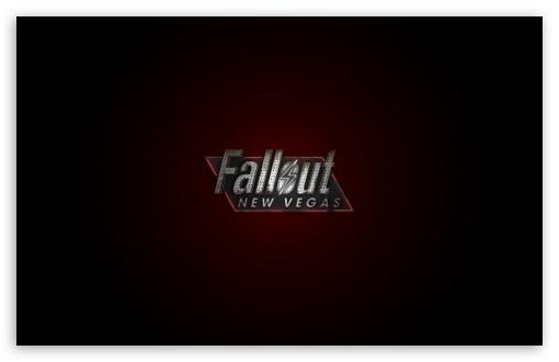 Fallout New Vegas Logo Red HD desktop wallpaper Mobile Dual 510x330