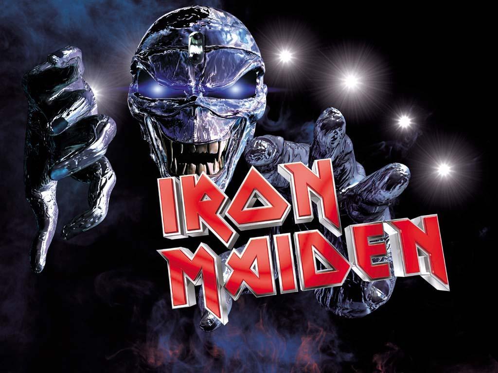 iron maiden logo wallpaper 17668jpg 1024x768