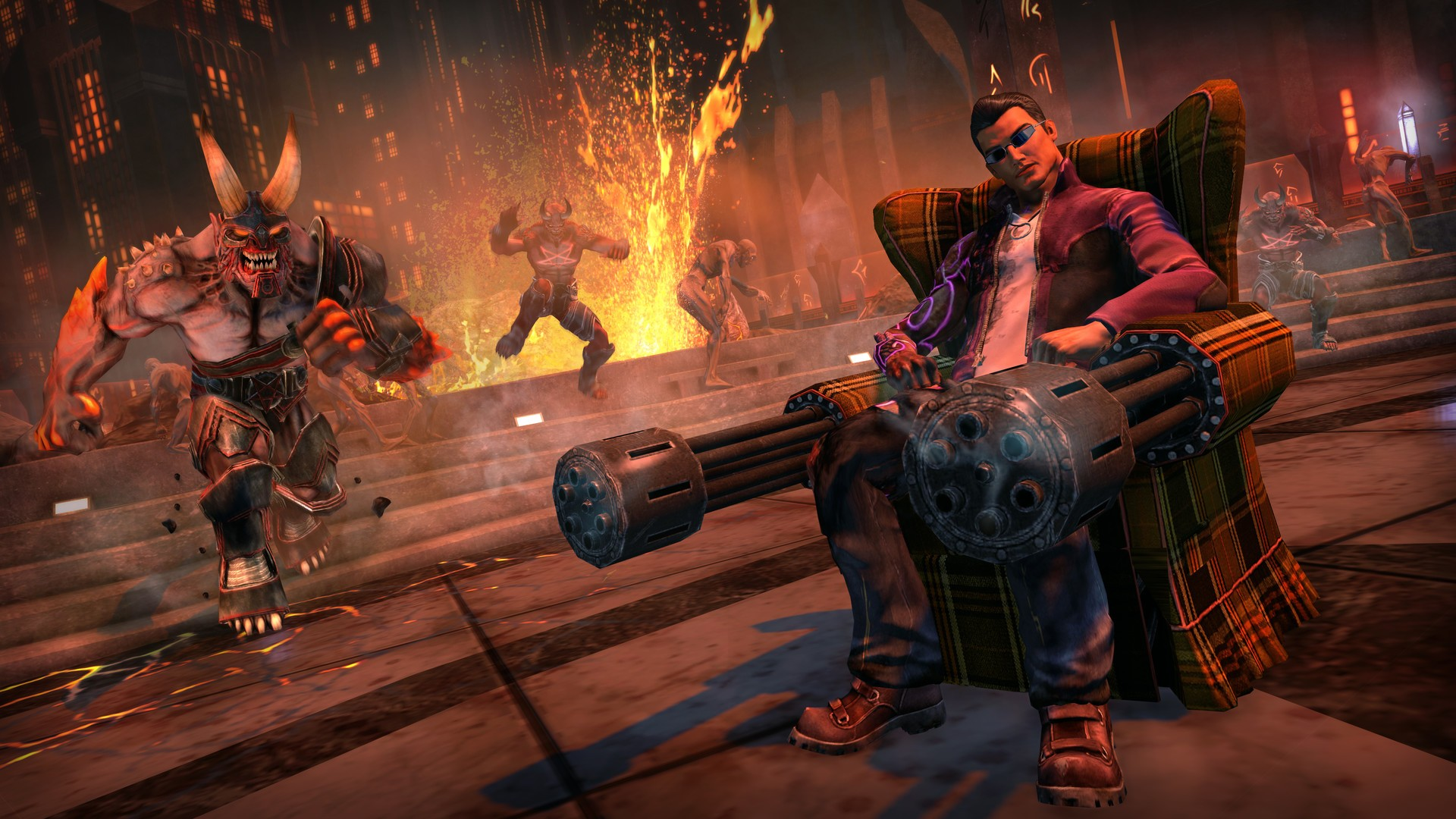 Saints Row Gat out of Hell and Saints Row 4 Re Elected Get Hilarious 1920x1080