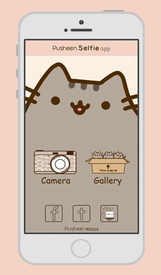 Pusheen Selfie app   Take the cutest selfies para iPad y iPhone 322x551