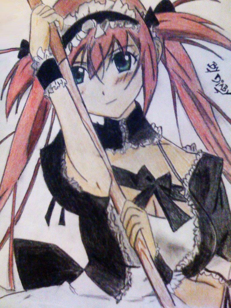 Airi Queens blade by DiabyX 774x1032