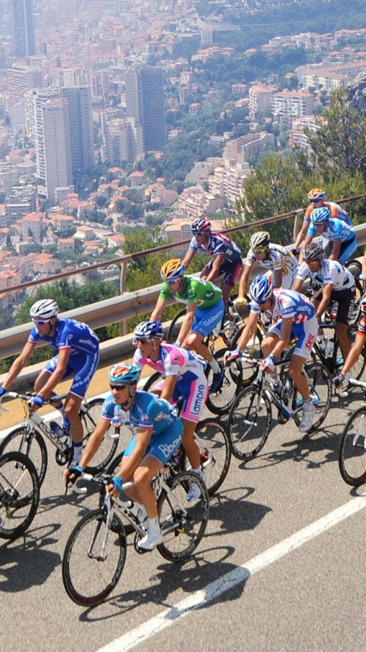 French cycling races tour de france cycles wallpaper 32050 750x1334