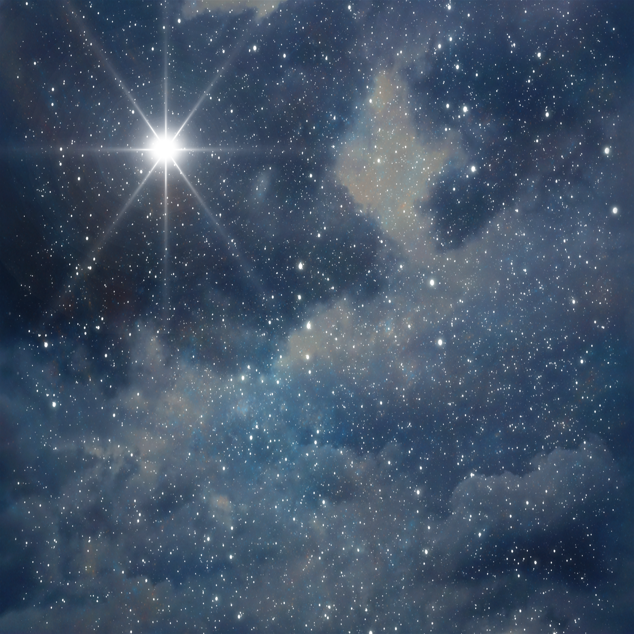 Stars In The Night Sky Tumblr Background night sky by 2048x2048