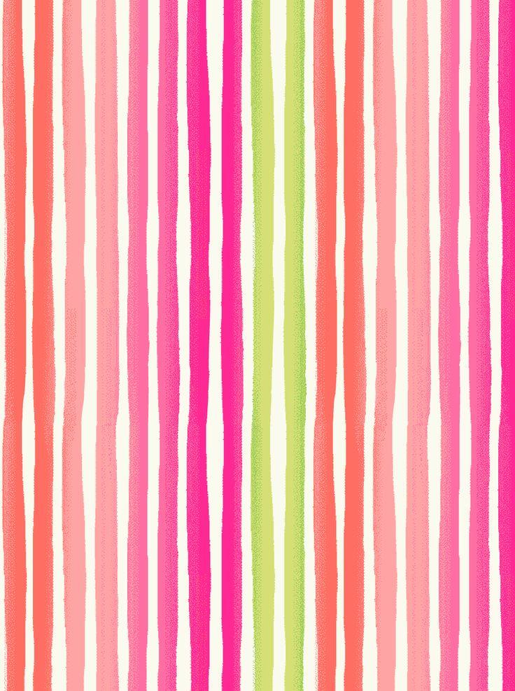 Multi Color Striped Wallpaper Wallpapersafari