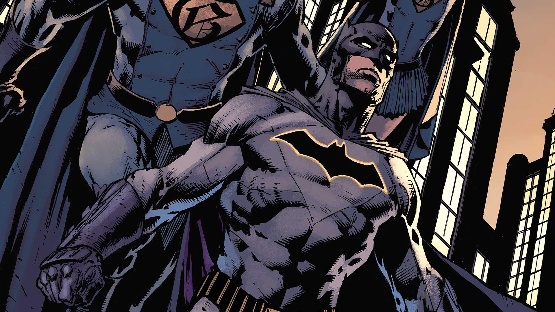 Dc Rebirth Batman Wallpaper 1920x1080