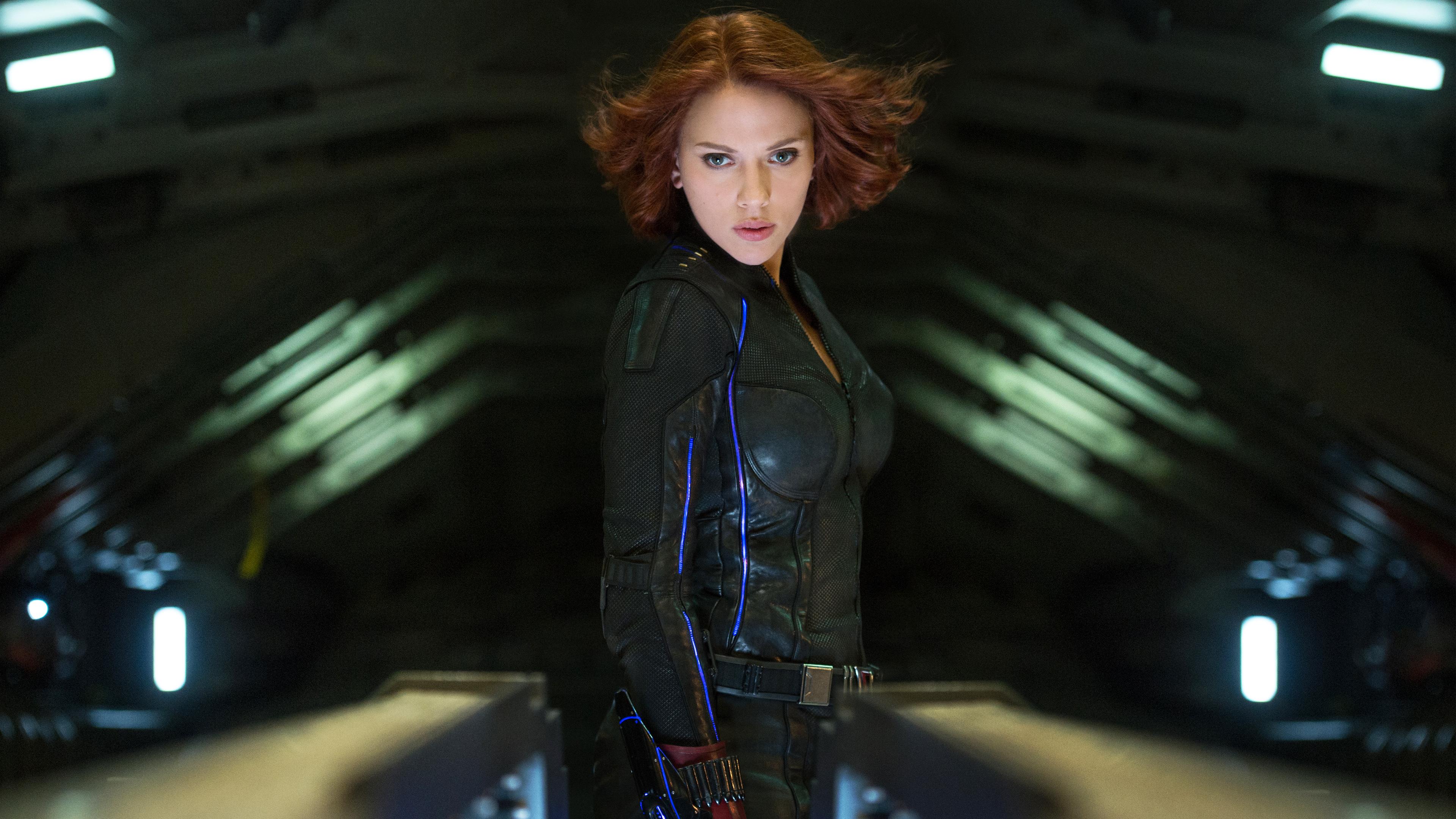 Scarlett Johansson Avengers Wallpaper Wallpapersafari
