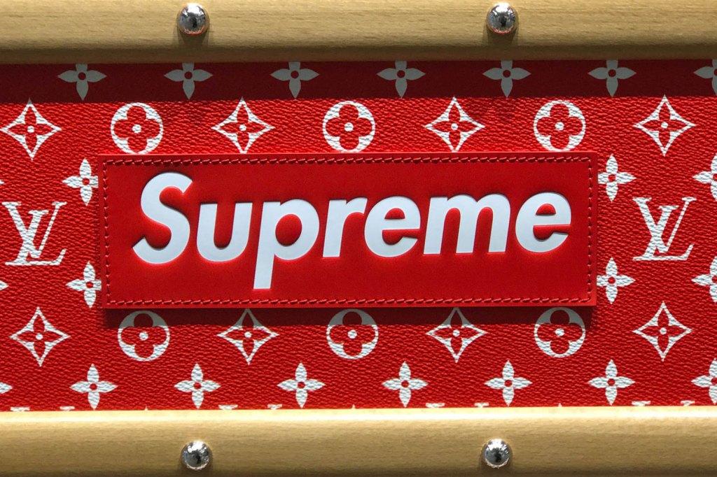 Fondos De Pantalla Supreme: Supreme-louis-vuitton-wallpaper