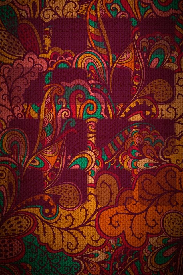 Paisley iphone wallpaper My IPHONE Pinterest 640x960