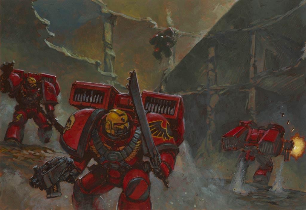 Blood Angels Wallpaper Warhammer 40k wallpaper 1024x701