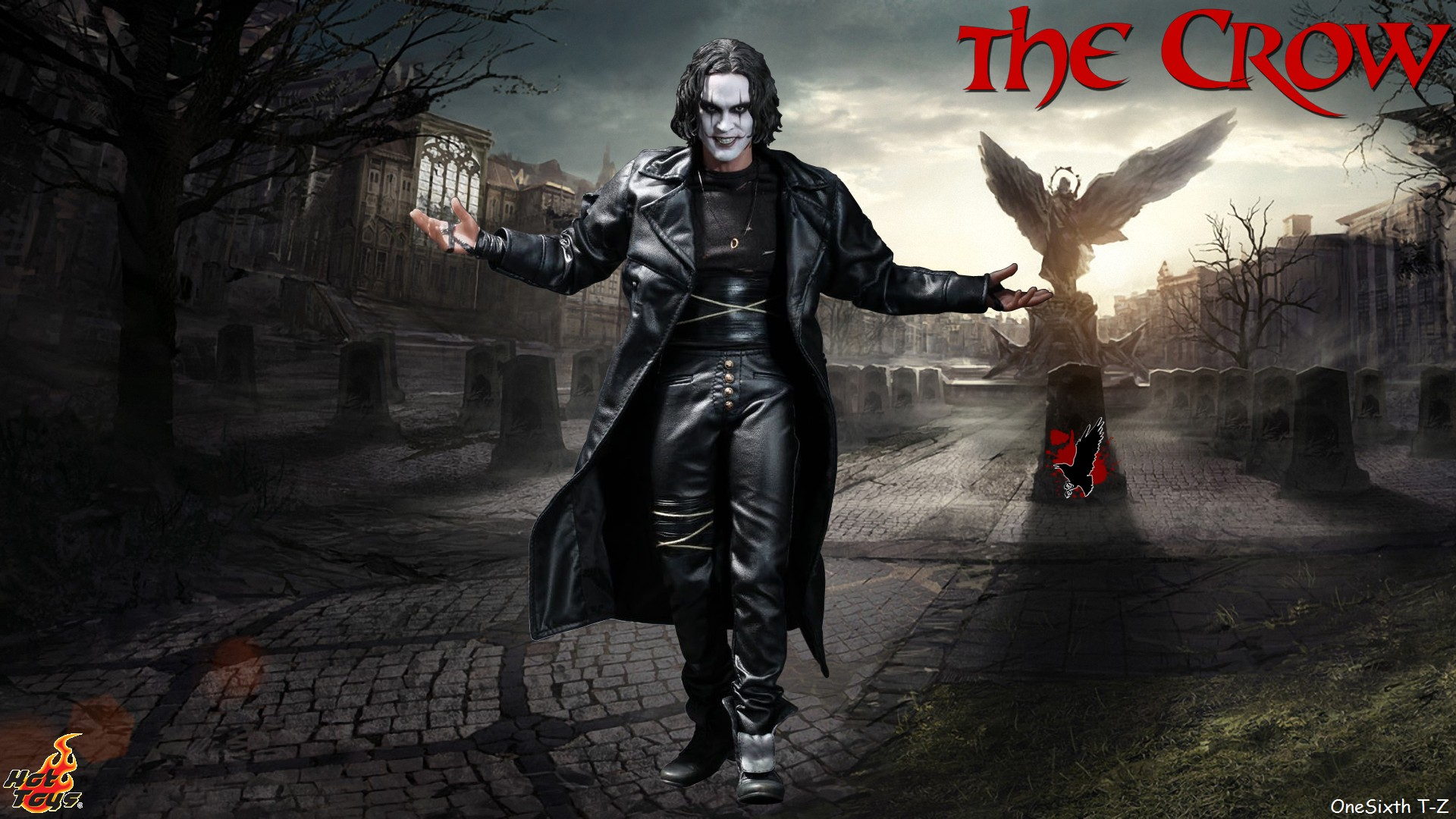 Crow hd wallpaper wallpapersafari - The crow wallpaper ...