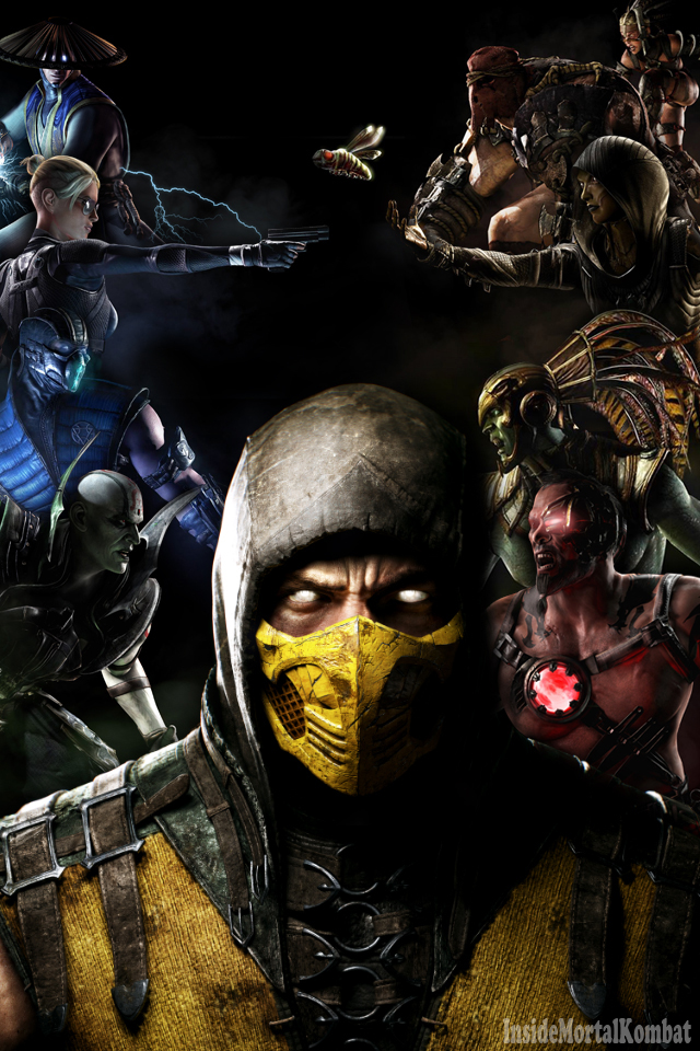 ] Mortal Kombat X iPhone Wallpaper by InsideMK Inside Mortal Kombat 640x960