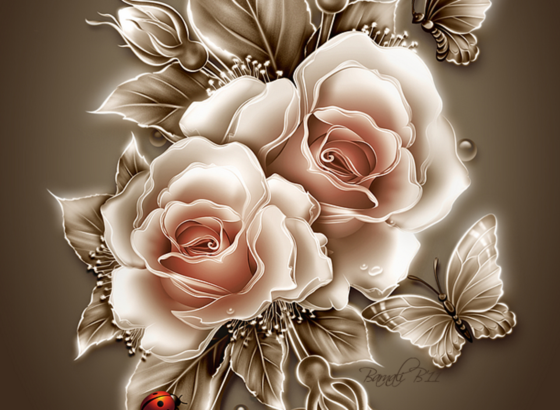 Most beautiful flower wallpapers wallpapersafari - Rose flowers wallpaper for mobile ...
