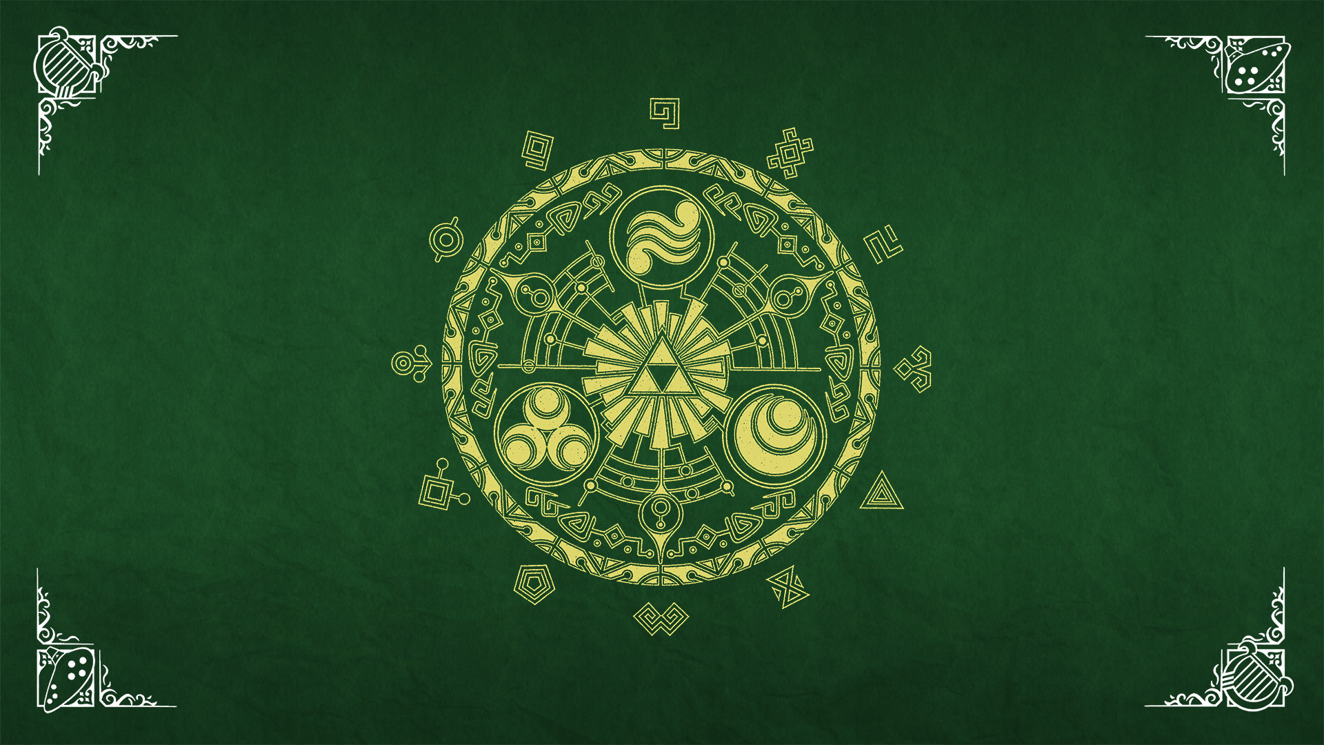 triforce wallpaper ipod