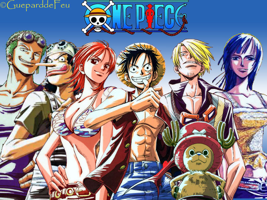 Wallpaper One Piece by GueparddeFeu 900x675