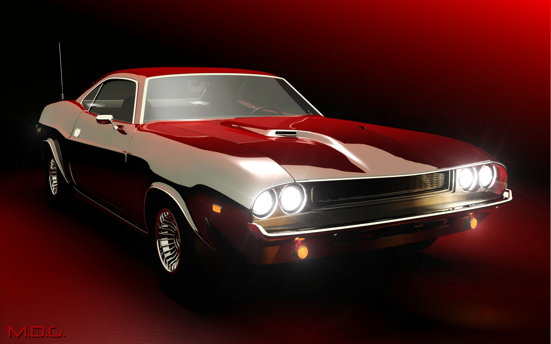 HD Wallpaper Muscle Cars