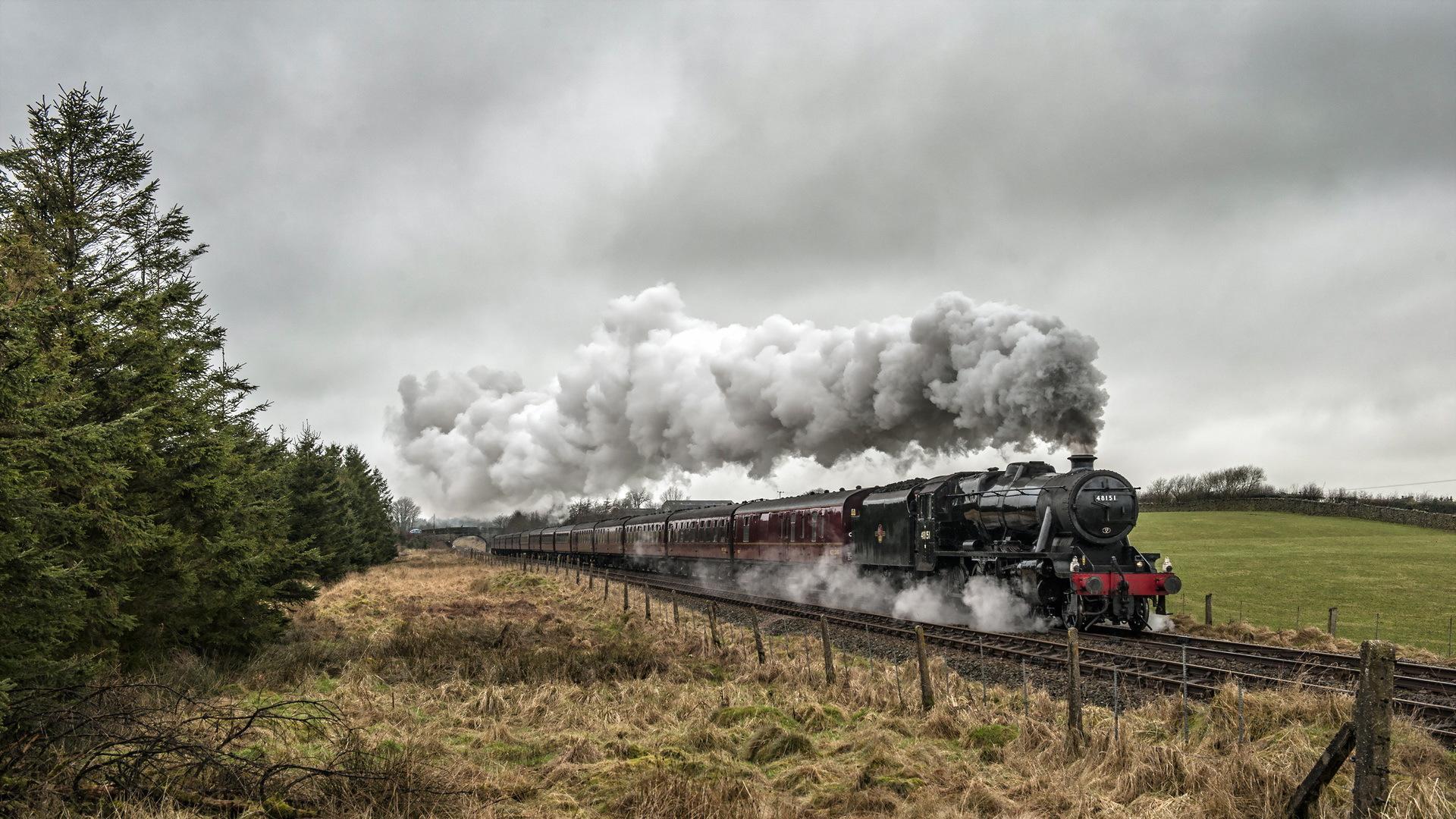 1920x1200 trains steam - photo #27