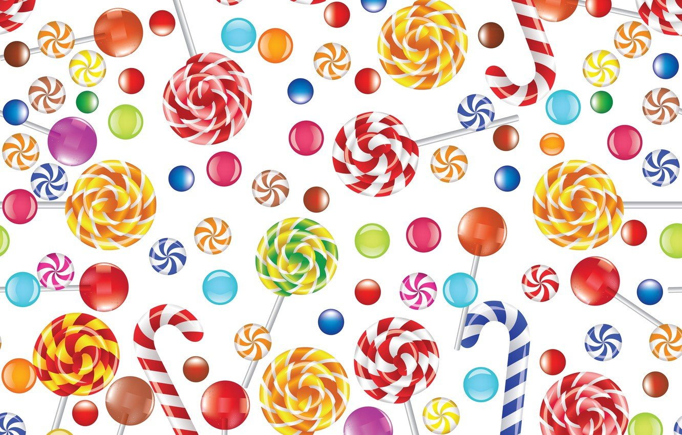 Wallpaper the sweetness texture lollipops caramel images for 1332x850