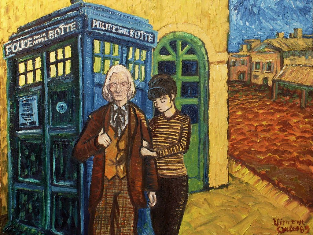 Draculasaurus: Doctor Who meets Van Gogh