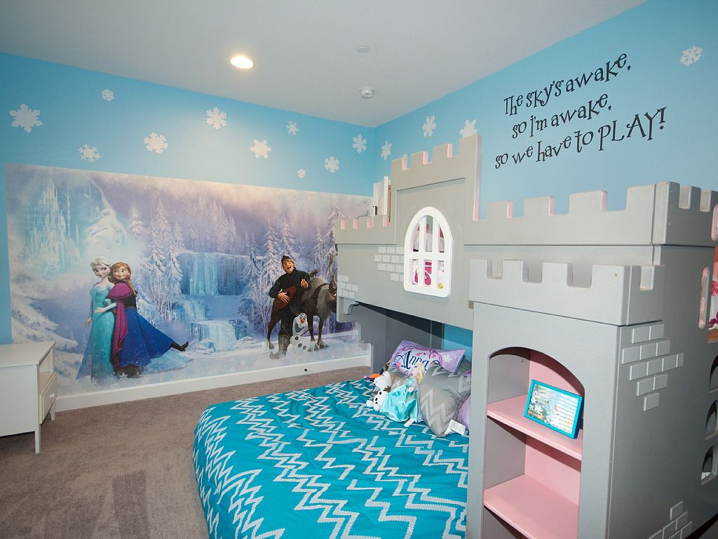 frozen disney bedroom 1024x768