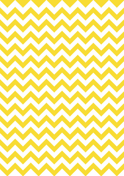 Yellow Chevron Border 424x600