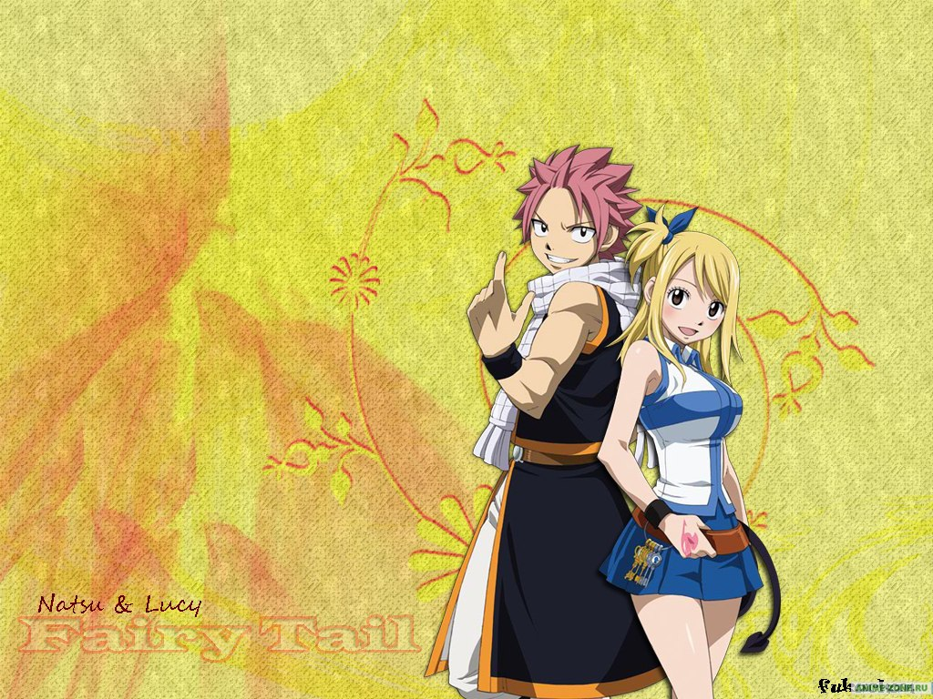 Fairy Tail Wallpaper Lucy And Natsu Images Pictures   Becuo 1024x768