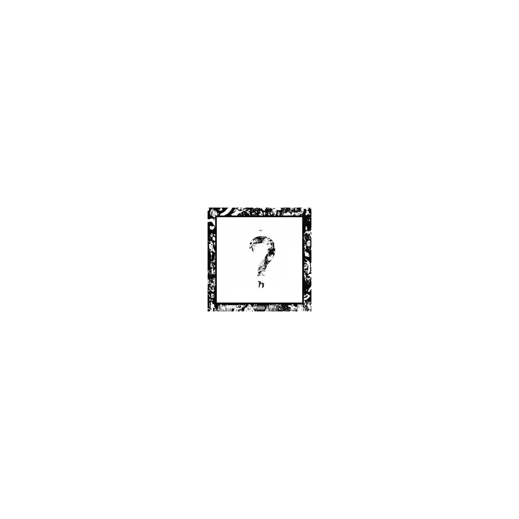 Xxxtentacion   Question Mark CD in 2019 Products Question 2000x2000