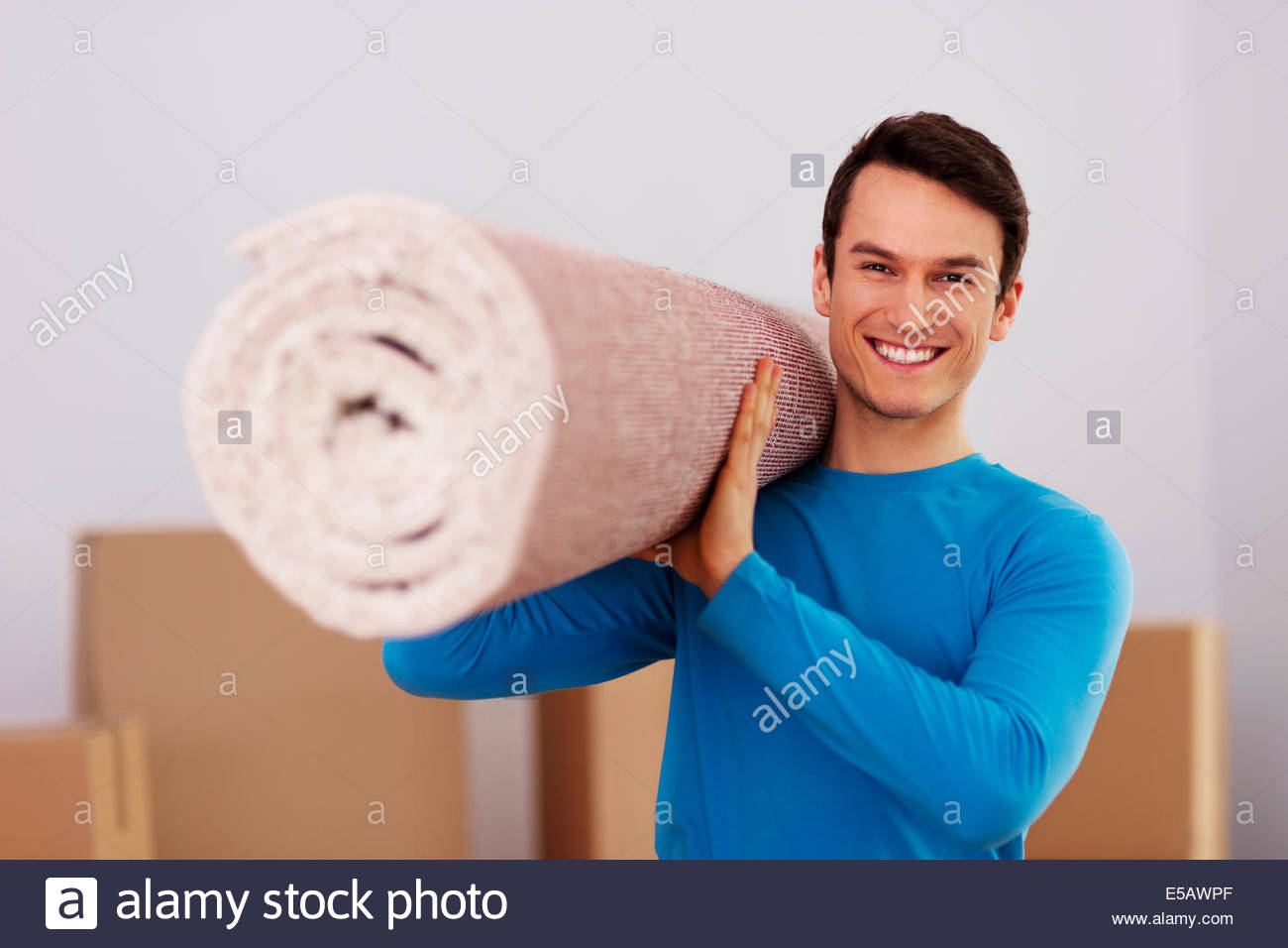 Roll Of Carpet Stock Photos Roll Of Carpet Stock Images   Alamy 1300x956