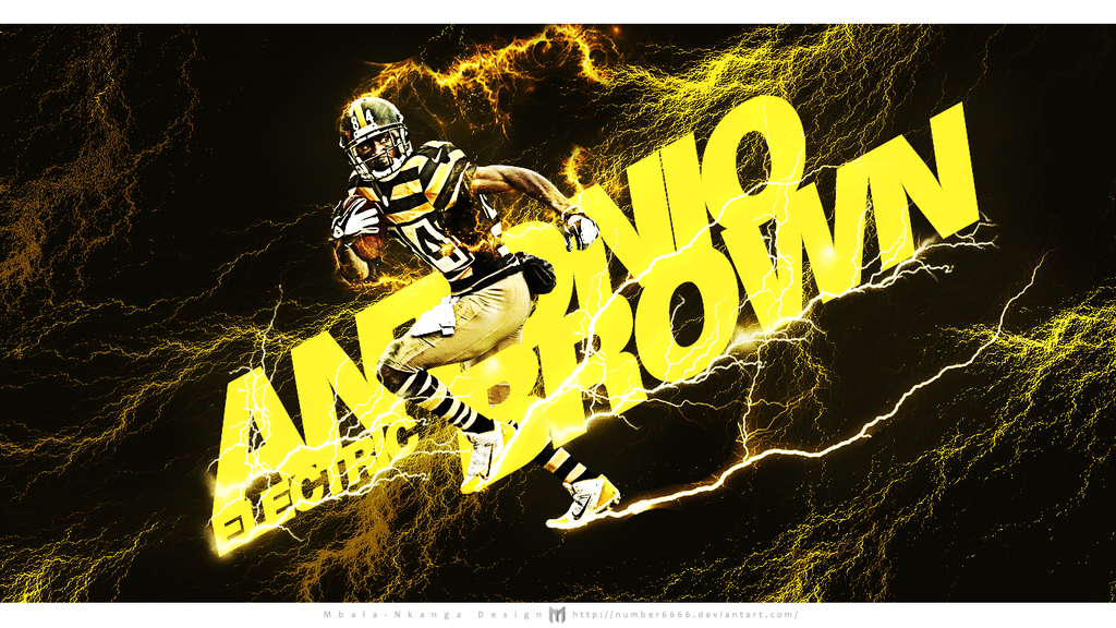 Antonio Brown Wallpaper by number6666 1024x576