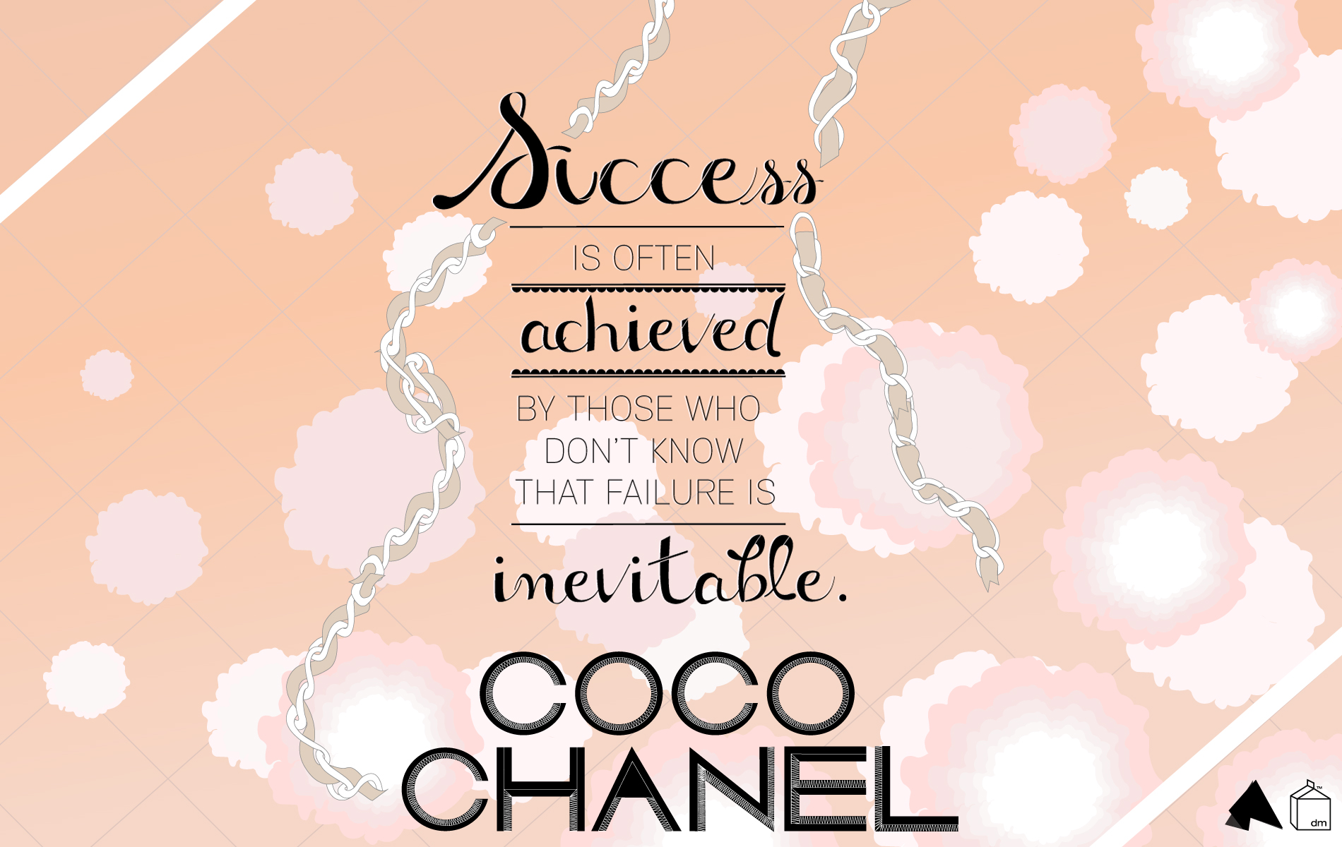coco chanel wallpaper for walls