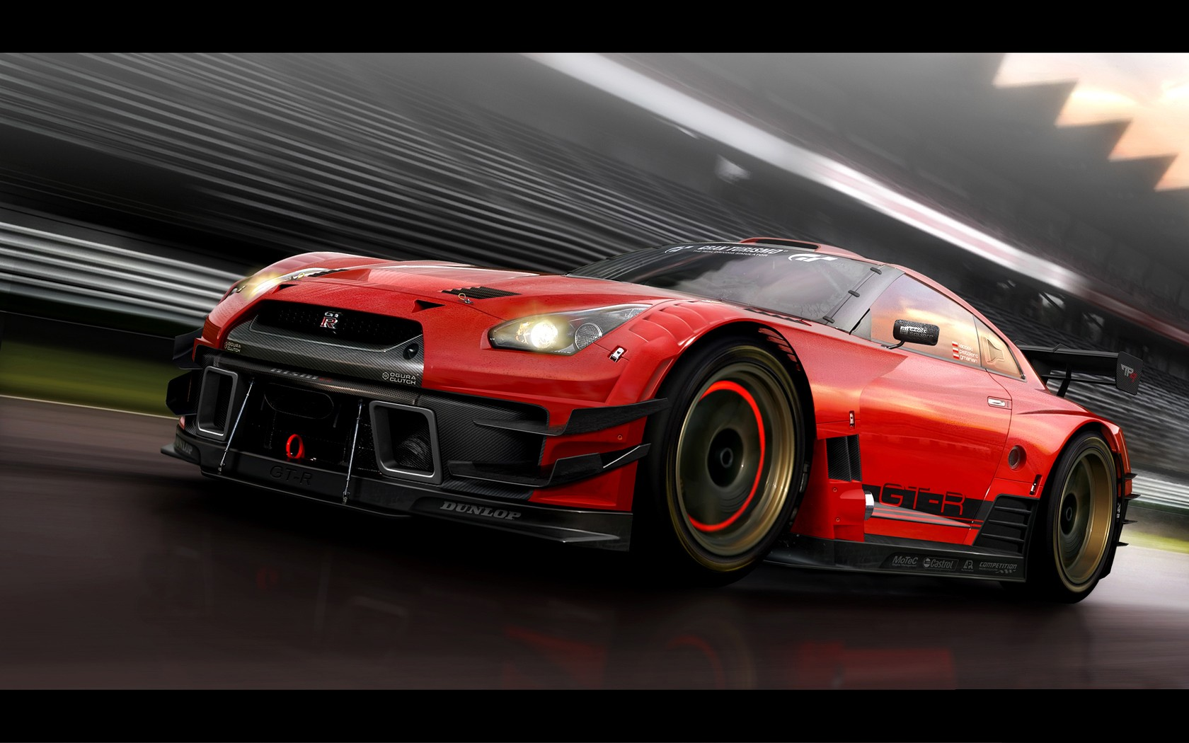 Red GTR Wallpapers Carbon Red GTR HD Wallpapers Carbon Red GTR 1680x1050