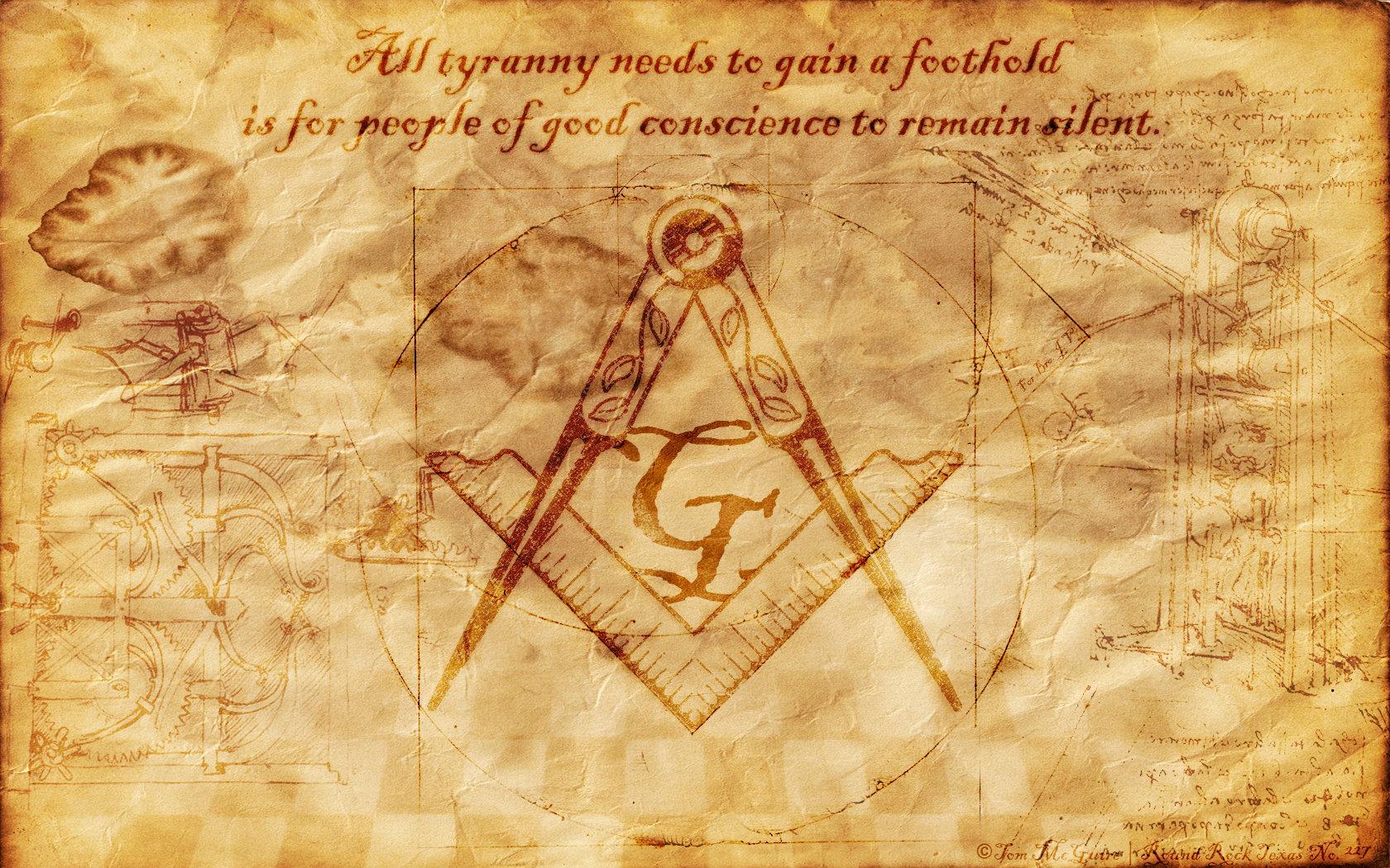 Image Freemason Wallpaper Masonic Symbols Download 1680x1050