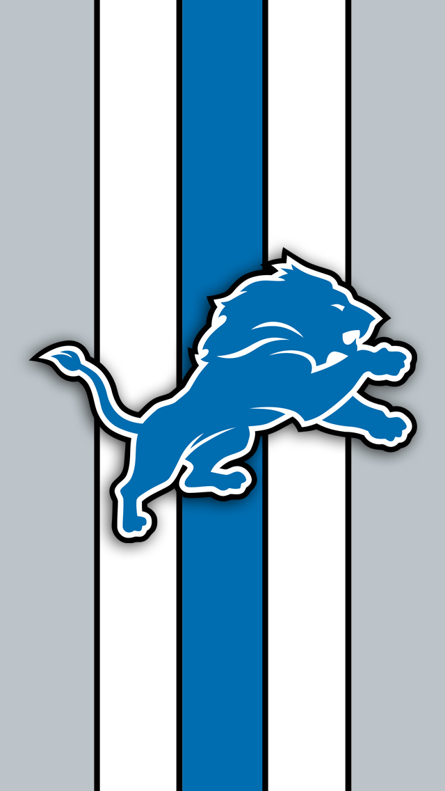 Detroit Lions Logo iPhone 5 Wallpaper 640x1136 640x1136