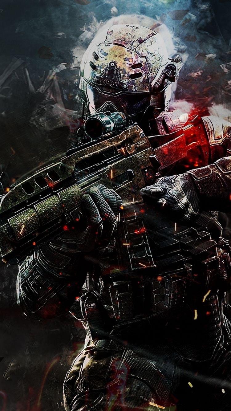 60 Marvelous Game iPhone Wallpapers For Gamers Call of duty 750x1334