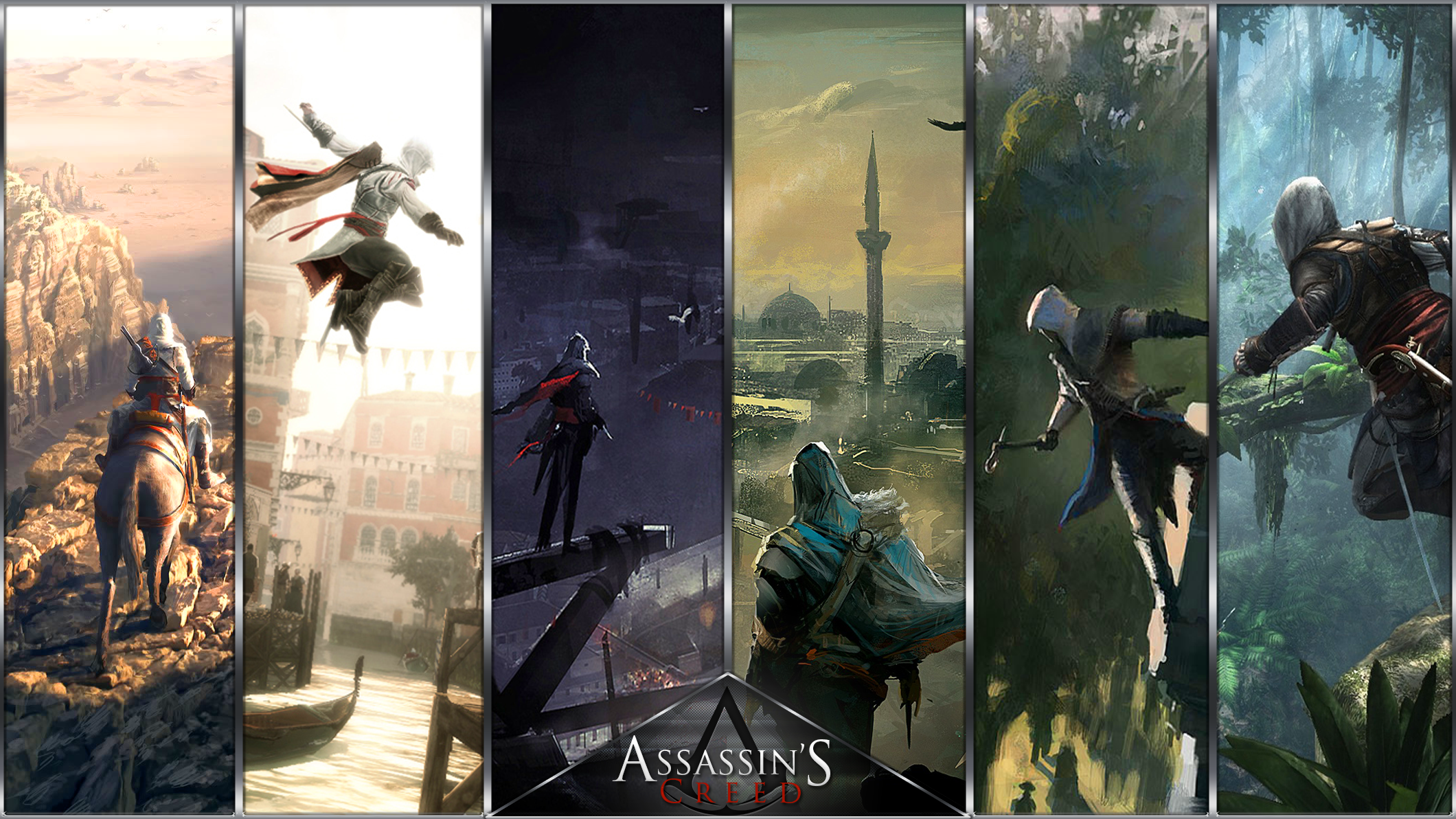 Free Download Assassin S Creed Wallpaper By Theeviln Watch Fan Art