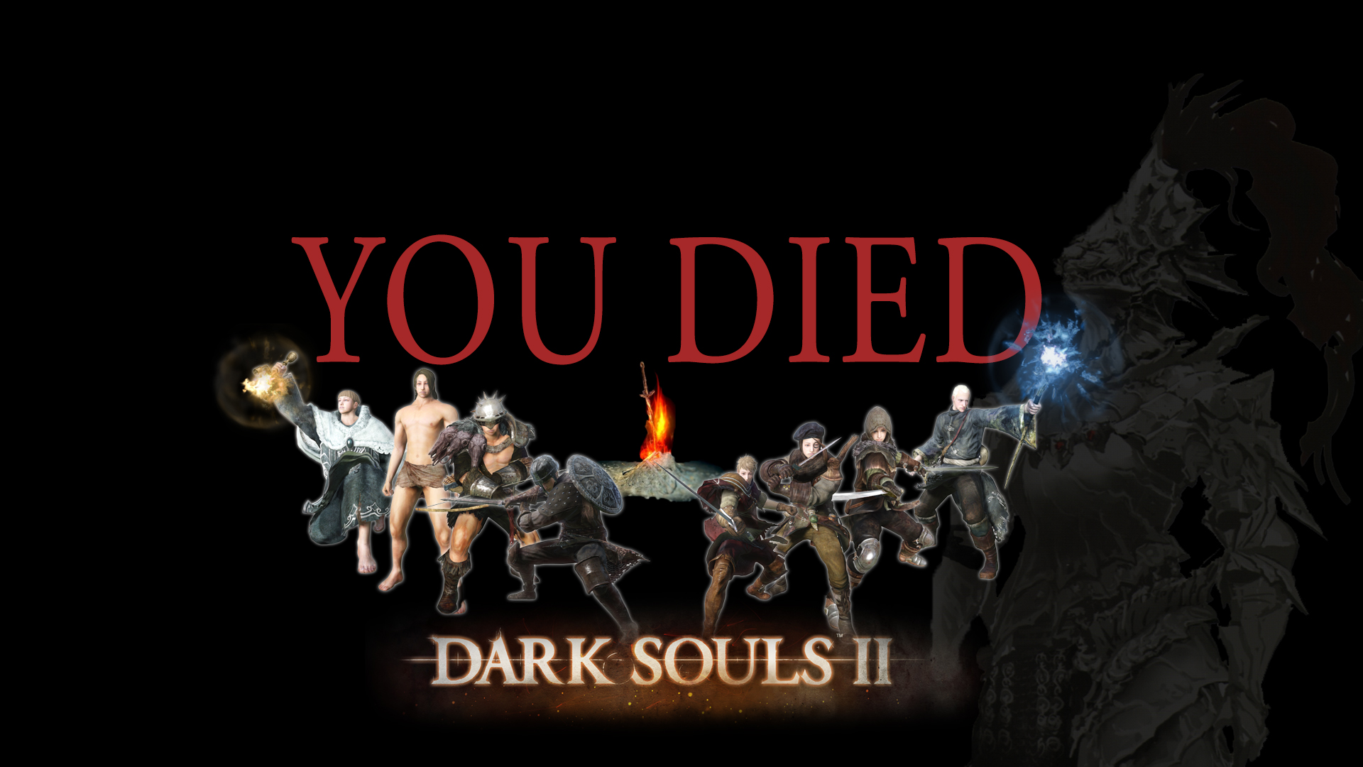 Dark Souls 2 Wallpaper by zupertompa 1920x1080