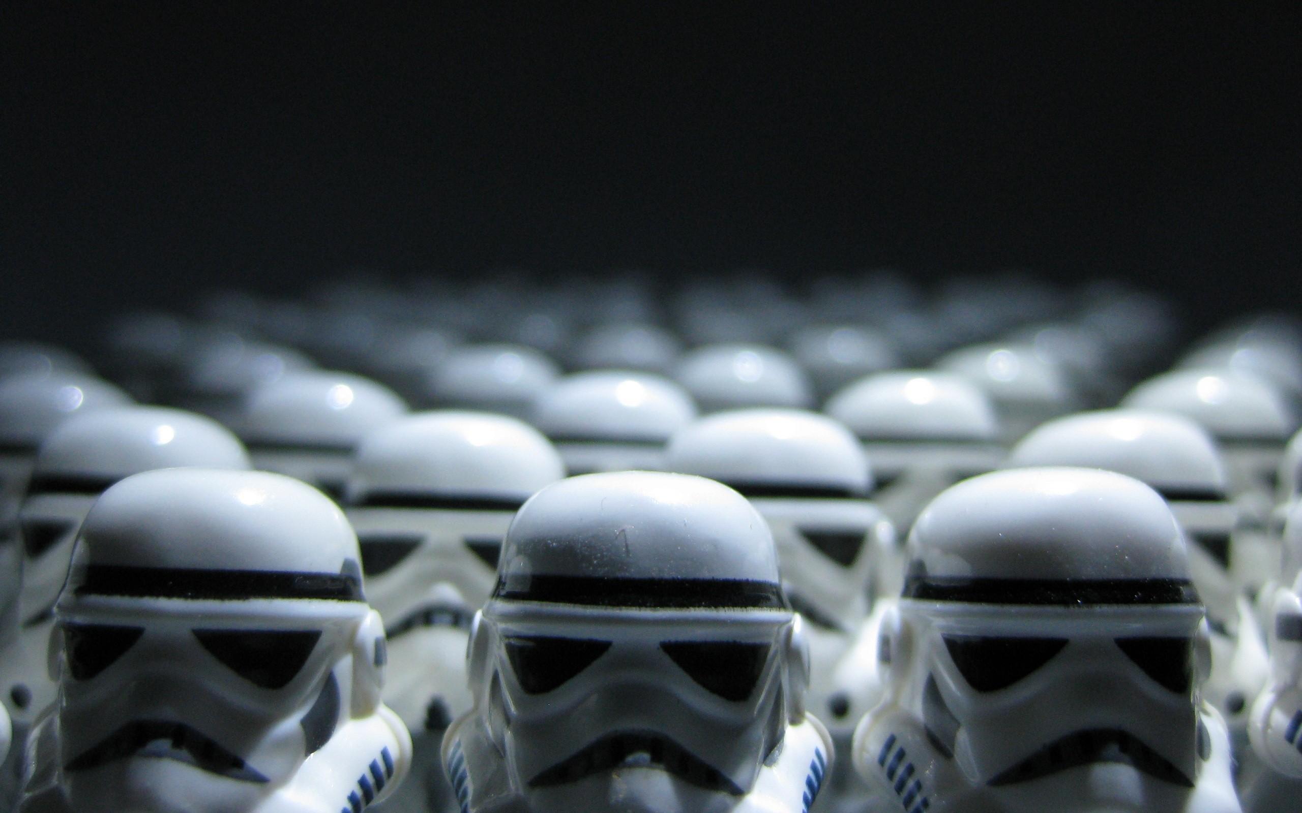 2560x1600 Lego Starwars Stormtroopers desktop PC and Mac wallpaper 2560x1600