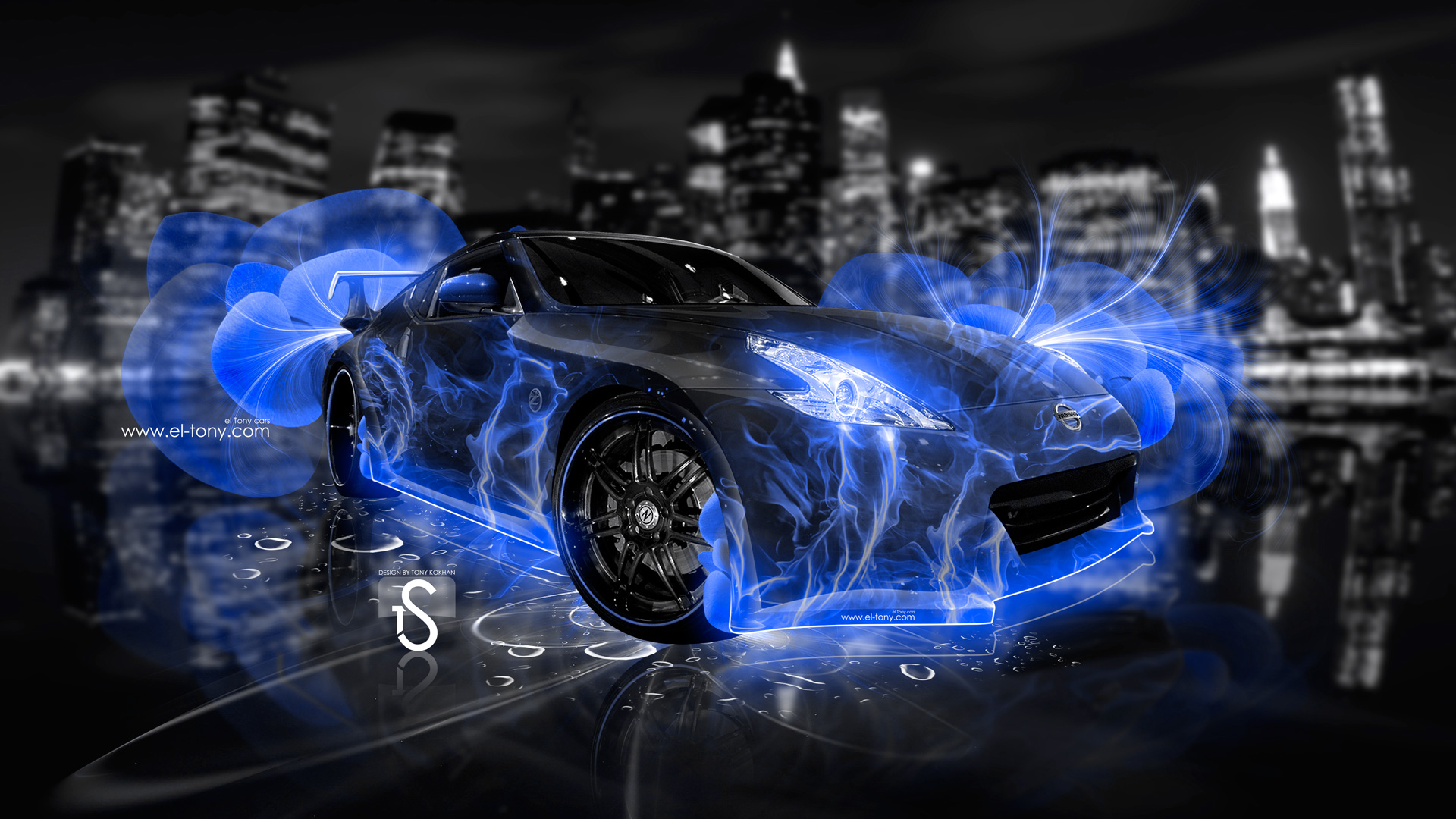 Charmant Emerg E Abstract Violet Neon Car 2013 Hd Wallpapers Design By Tony Car .