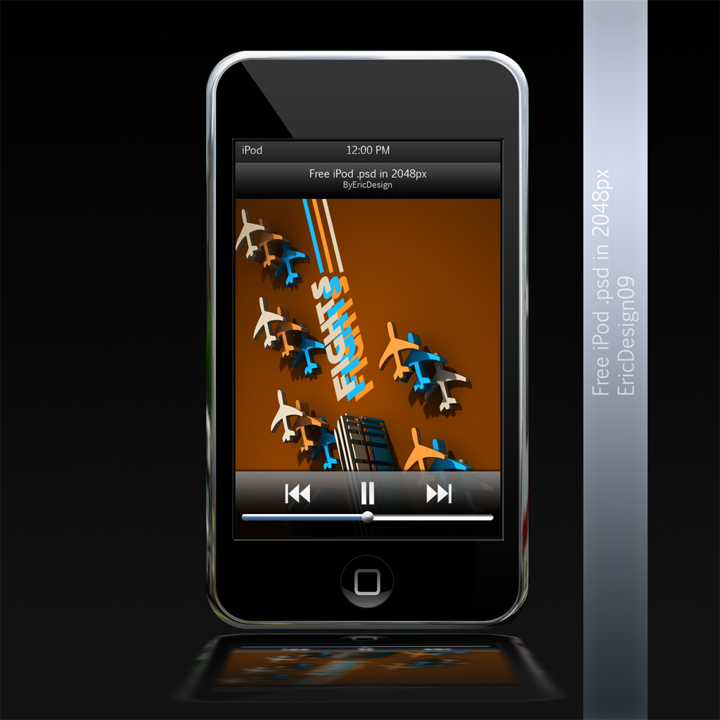 free ipod touch 4 on Psd Ipod Touch By 3dericdesign On Deviantart 1024x1024