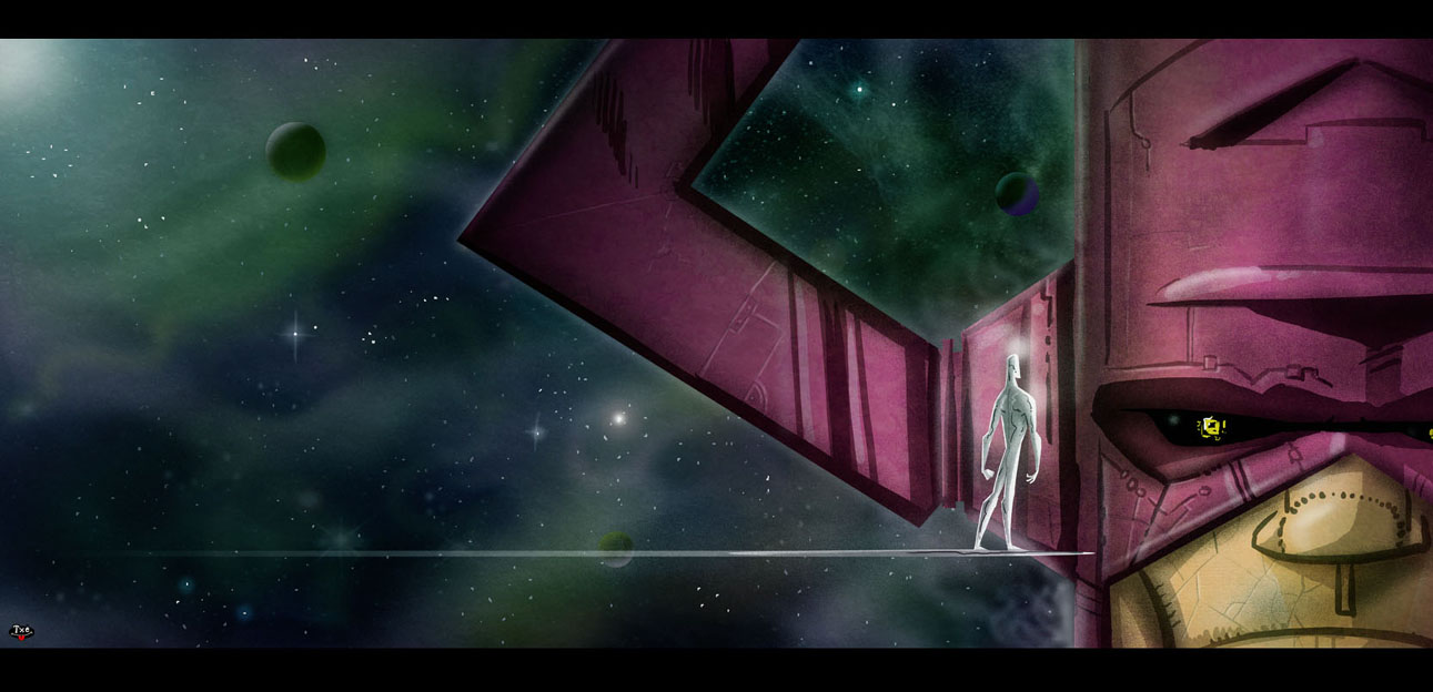 Galactus and Silver Surfer 1291x624